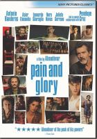 Cover image for Pain and glory