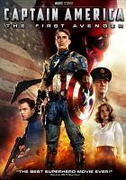 Cover image for Captain America the first avenger
