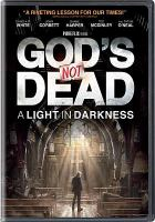 Cover image for God's not dead. A light in darkness