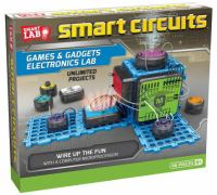 Cover image for Smart circuits games & gadgets electronics lab