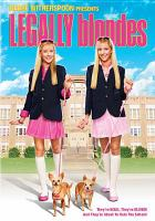Cover image for Legally blondes