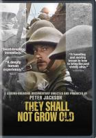 Cover image for They shall not grow old