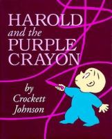 Cover image for Harold and the purple crayon