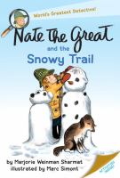 Cover image for Nate the Great and the snowy trail