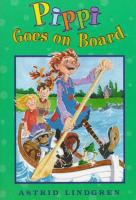 Cover image for Pippi goes on board