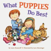Cover image for What puppies do best