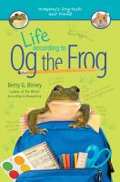 Cover image for Life according to Og the frog