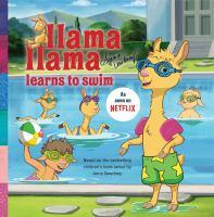 Cover image for Llama Llama learns to swim