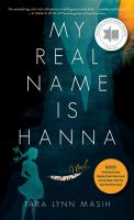 Cover image for My real name is Hanna
