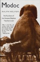 Cover image for Modoc BOOK CLUB #14 the true story of the greatest elephant that ever lived