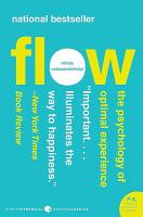 Cover image for Flow : the psychology of optimal experience
