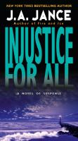 Cover image for Injustice for all
