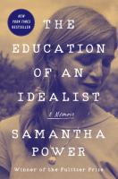 Cover image for The education of an idealist : a memoir