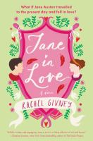 Cover image for Jane in love : a novel
