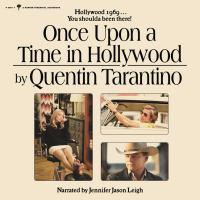 Cover image for Once upon a time in Hollywood : a novel