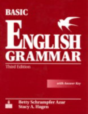 Cover image for Basic English grammar