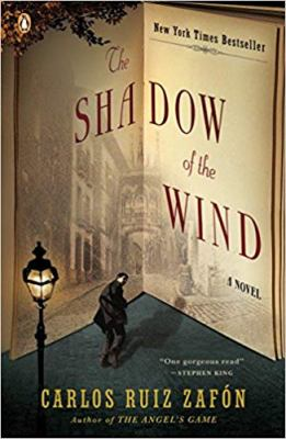 Cover image for The shadow of the wind BOOK CLUB #39