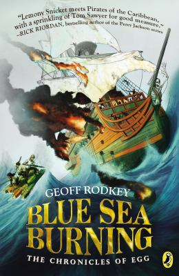 Cover image for Blue sea burning