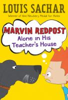 Cover image for Marvin Redpost. Alone in his teacher's house