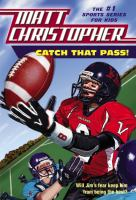 Cover image for Catch that pass!