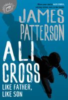 Cover image for Ali Cross. Like father, like son