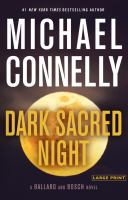 Cover image for Dark sacred night