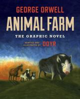 Cover image for Animal farm : the graphic novel