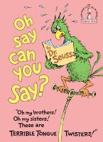 Cover image for Oh say can you say?