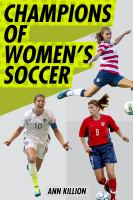 Cover image for Champions of women's soccer