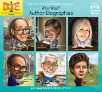 Cover image for Who was? Author biographies.