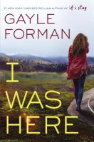 Cover image for I was here