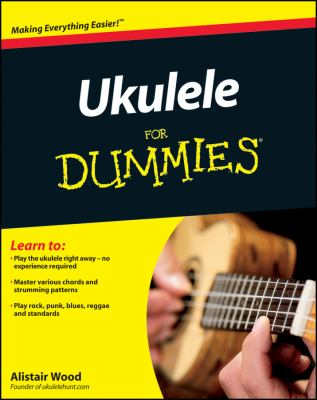 Cover image for Ukulele For dummies