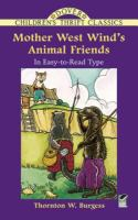 Cover image for Mother West Wind's animal friends