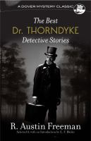 Cover image for The best Dr. Thorndyke detective stories