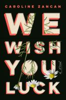 Cover image for We wish you luck : a novel