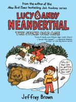 Cover image for Lucy & Andy Neanderthal. The stone cold age