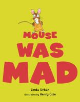 Cover image for Mouse was mad