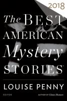 Cover image for The best American mystery stories. 2018
