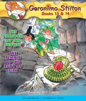 Cover image for Geronimo Stilton. Books 13 &14.