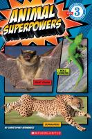 Cover image for Animal superpowers