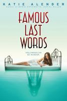 Cover image for Famous last words