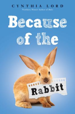 Cover image for Because of the rabbit