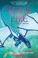 Cover image for Wings of fire : the graphic novel. The lost heir