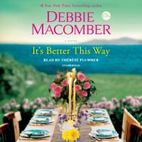 Cover image for It's better this way : a novel