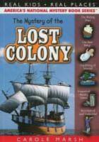 Cover image for The mystery of the lost colony