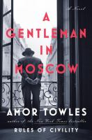 Cover image for A gentleman in Moscow BOOK CLUB #50