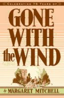 Cover image for Gone with the wind