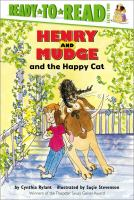 Cover image for Henry and Mudge and the happy cat : the eighth book of their adventures