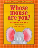 Cover image for Whose mouse are you?