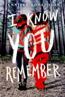 Cover image for I know you remember